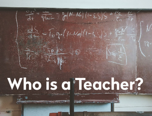 Who is a Teacher?