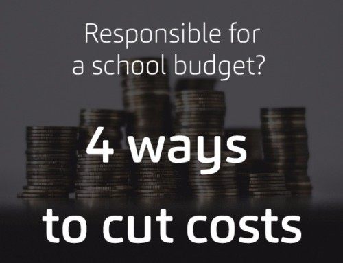 Responsible for a School Budget? Here are 4 Clever Ways to Cut Costs