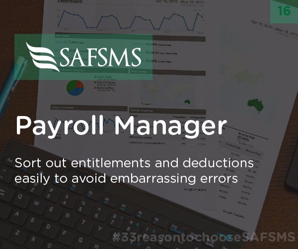 Manage Teachers' Payroll with SAFSMS