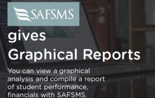 gives graphical reports