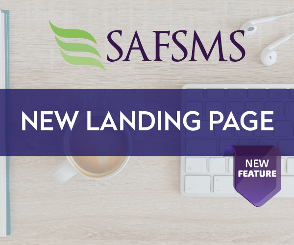 Introducing the All-new SAFSMS login page