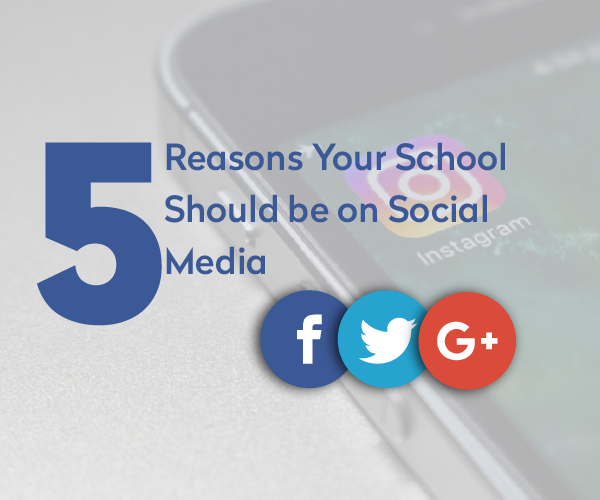 5 Reasons why your school should be on social media