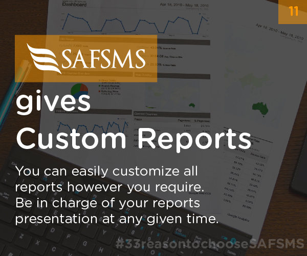 Personalize School Reports with SAFSMS
