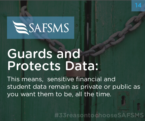 SAFSMS Guards & Protects Data