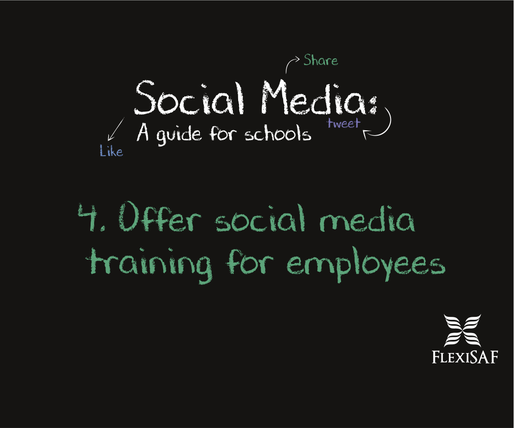 4. Offer Social Media Training for Employees