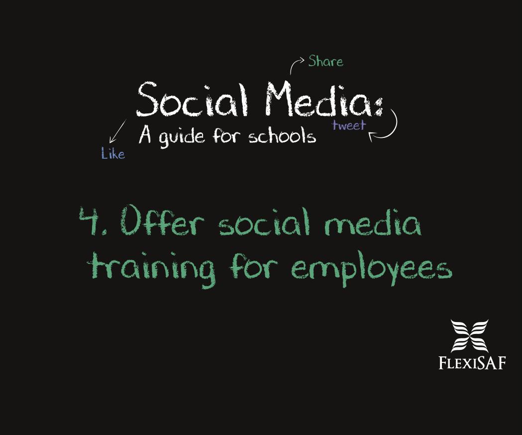 4. Offer Social Media Training for Employees