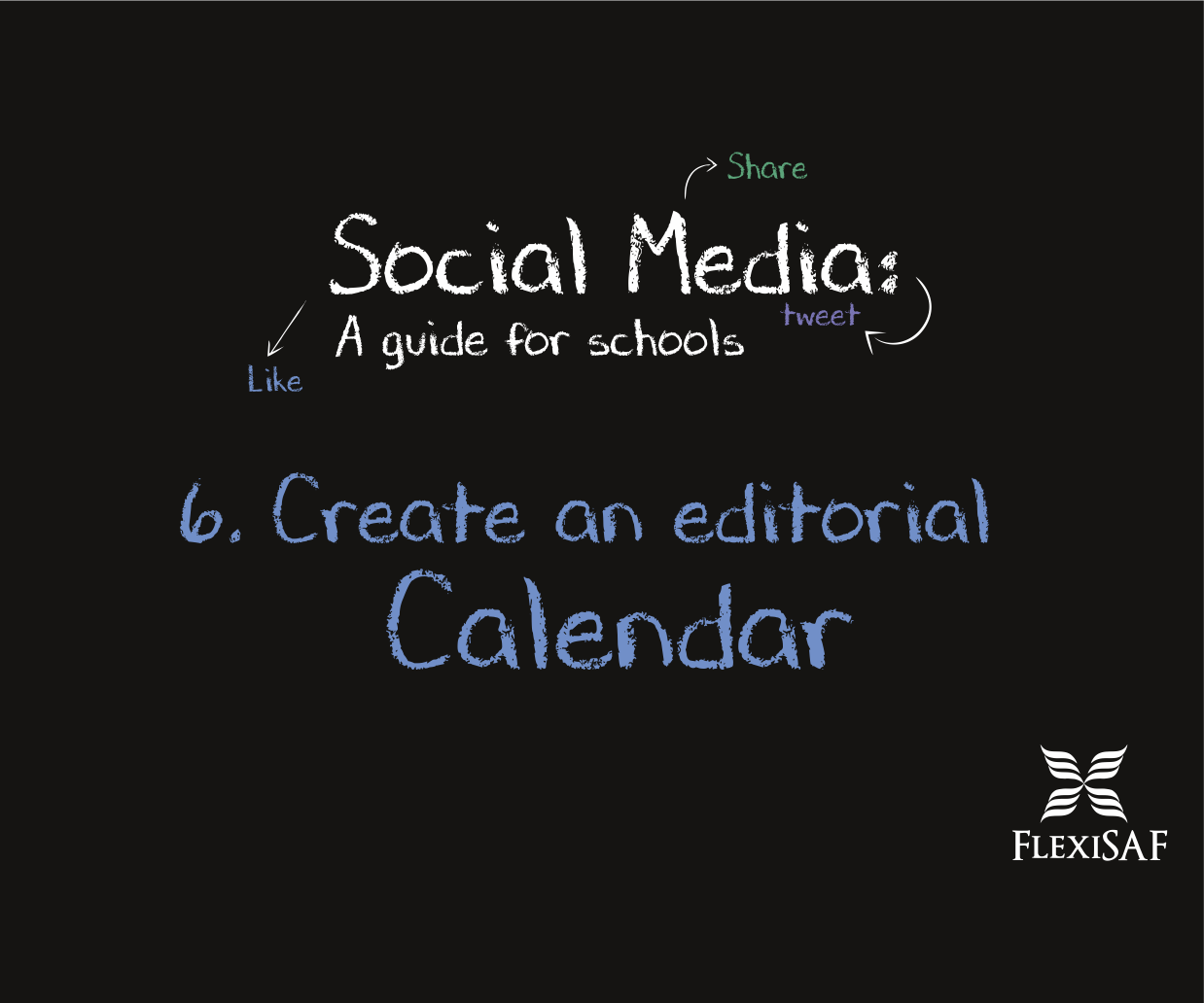 6. Create Editorial Calendar