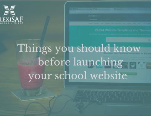 8 things you should know before launching your school website