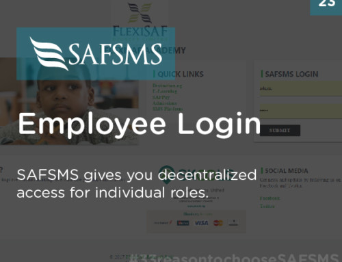 SAFSMS provides Employee Login