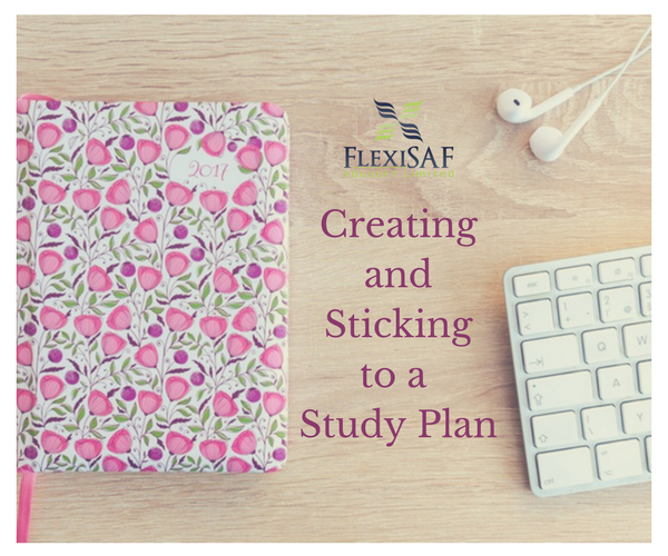 Creating and Sticking to a Study Plan