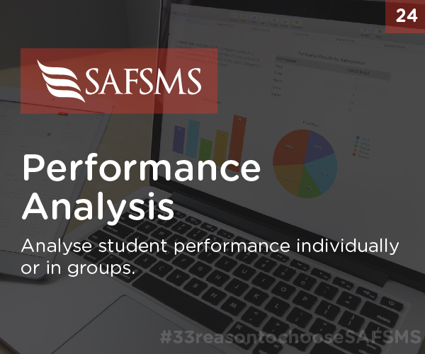 SAFSMS Provides Performance Analysis