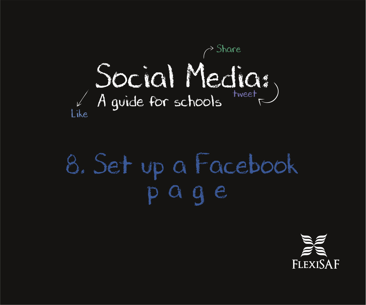 8. Set up a Facebook Page