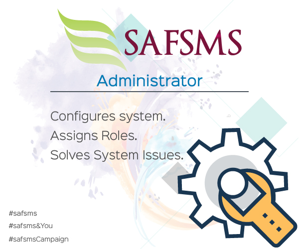 SAFSMS&You: Administrator