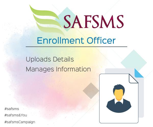 SAFSMS&You: Enrollment Officer