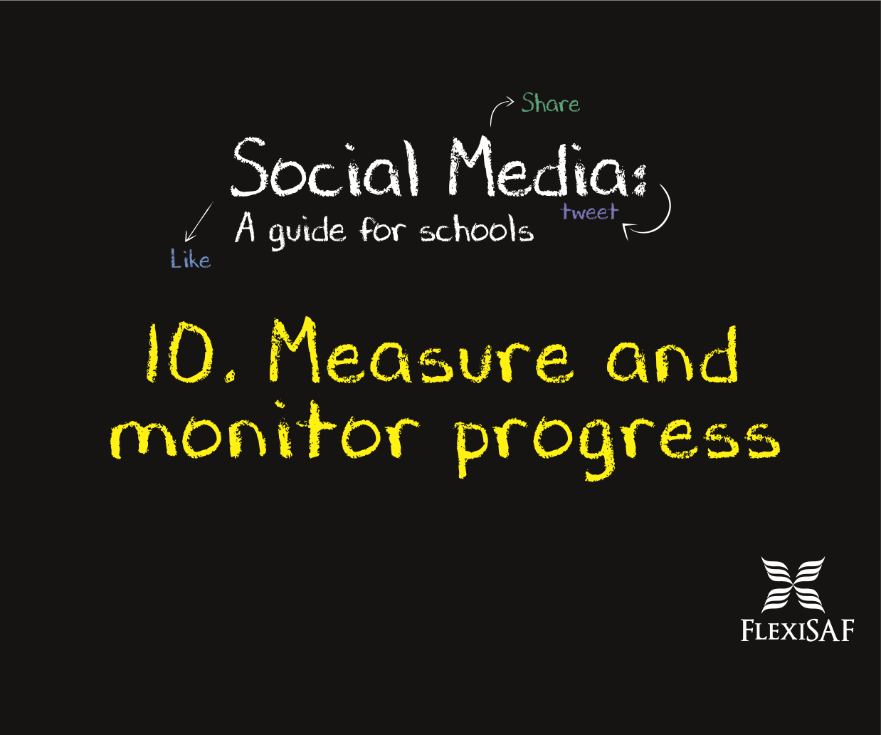 10. Measure and monitor progress