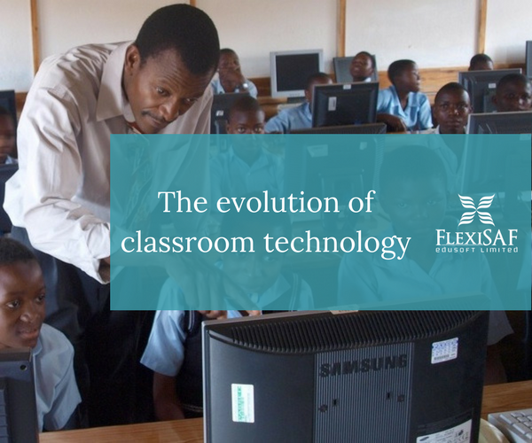 The Evolution of Classroom Technology (infograph)
