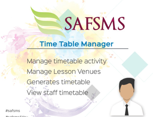 SAFSMS&YOU: Timetable Manager