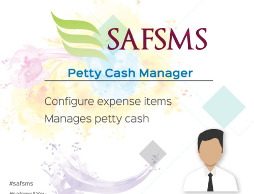 SAFSMS&You: Petty Cash Manager