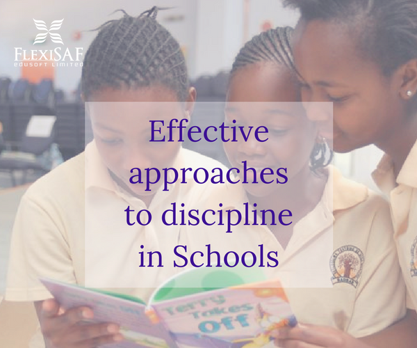 Effective Approaches to Discipline in Schools