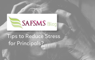 stress reduction tips for principals and teachers