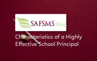 traits of a good school principal