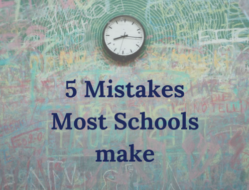 5 Common Mistakes Most Schools Make: Admin Problems