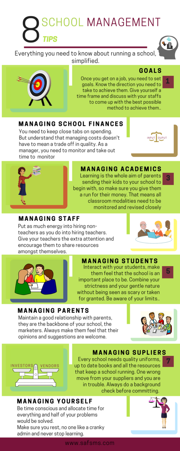 school management tips