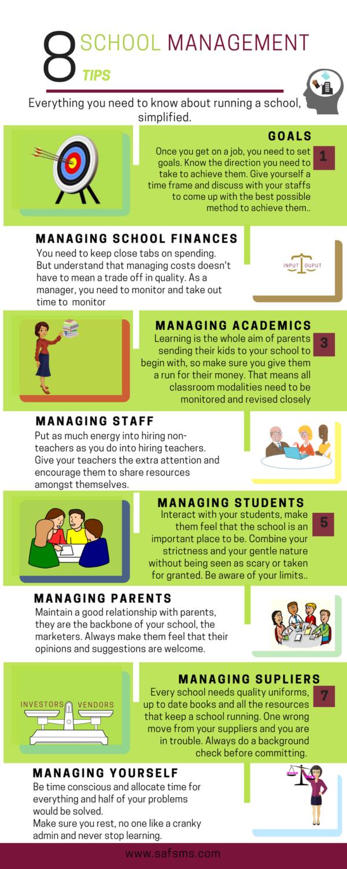 school management tips