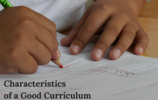 what makes a good curriculum